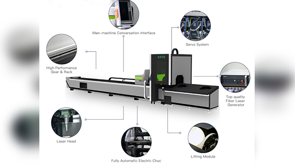 Application of tube laser cutting machine in metal processing industry